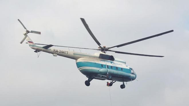На время ЧМ по футболу в Петербурге круглосуточно будет дежурить вертолет с медиками