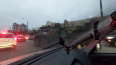 На проспекте Культуры в Петербурге водители заметили БТР