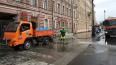К середине апреля в Петербурге отмыли 75% улиц