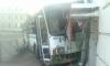 Автобус в Пушкине снес такси и врезался в дом: есть пострадавшие