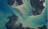 Появилось крутое фото Крымского моста, снятое из космоса американцем