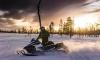 В Киришах преступники украли спрятанный снегоход
