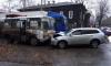 В Томске иномарка протаранила маршрутный ПАЗ с пассажирами