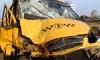 ДТП Петербурге, 10 раненых: маршрутка врезалась в авто полицейского