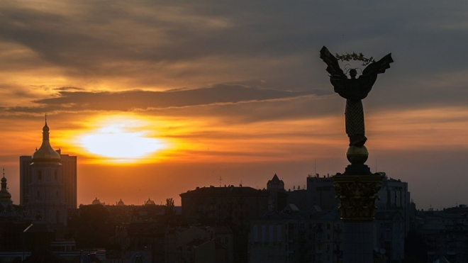 """В Киеве националисты собрались на """"народное вече"""""""
