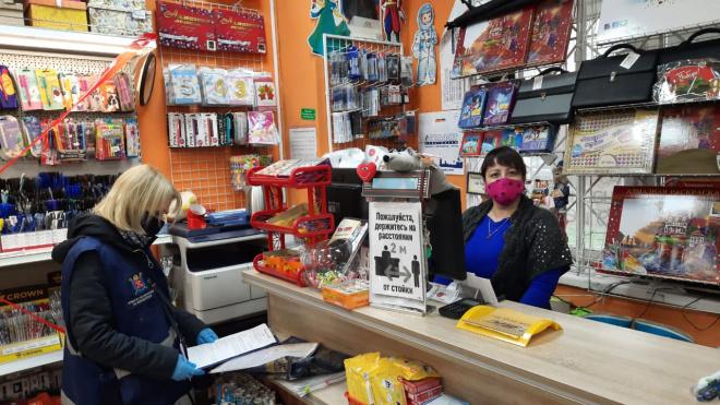 СотрудникиККИ проверили на соблюдение режима самоизоляции 96 торговых центров