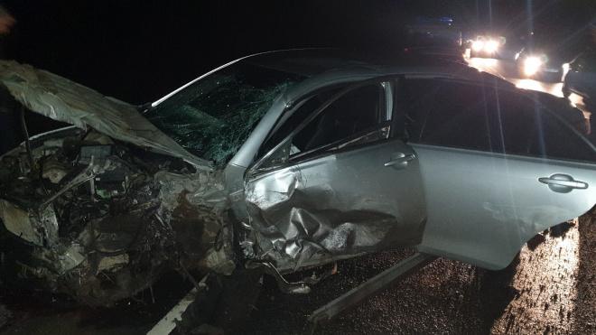 На трассе Новая Ладога лобовое столкновение: два человека погибли