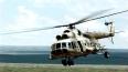 В Томской области опрокинулся вертолет Ми-8