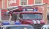 В центре Петербурга образовалась большая пробка из-за машин спасателей