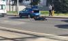 Мотоциклиста погибла после ДТП около моста Александра Невского