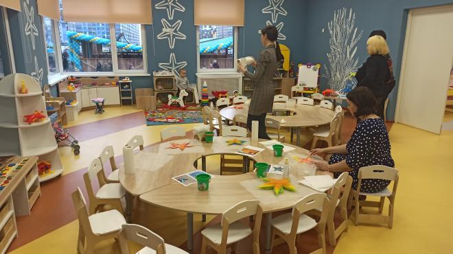 Новый детский сад на Дунайском проспекте ввели в эксплуатацию