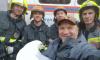На Старо-Петергофском шоссе спасатели и биолог освободили большого бургомистра
