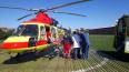 В Петербурге двух жертв ДТП эвакуировали на вертолетах ...