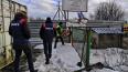 На юге Петербурга принудительно демонтировалинезаконные ...