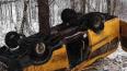 В Ивановской области перевернулся микроавтобус со ...