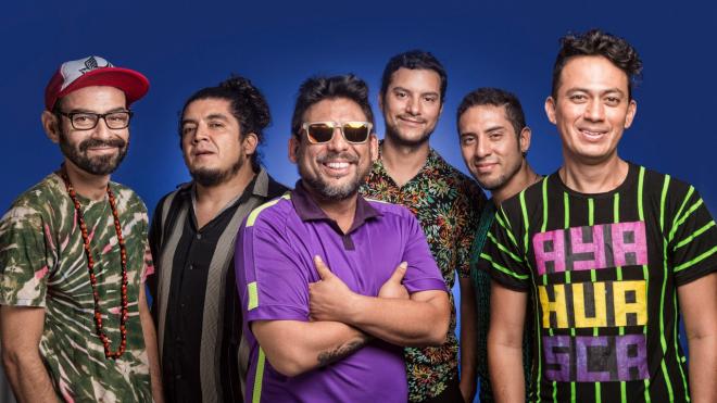 Концерт перуанской группы Bareto и петербургских Marksсheider Kunst