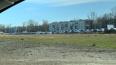 На юге Петербурга заметили стоянку припаркованных ...