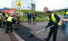В Выборге окончены осенние ремонтные работы по содержанию дорог