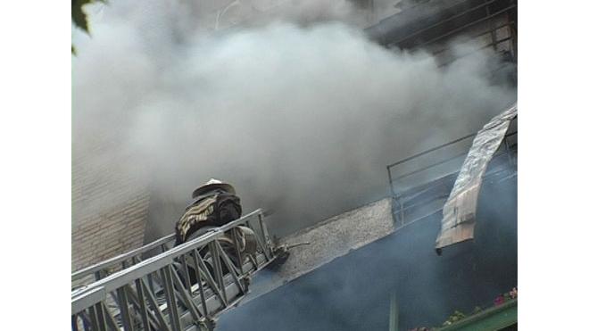 Пожар на ул. Пограничника Гарькавого:  хозяин погиб до прибытия спасателей