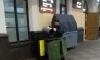 Урну для раздельного сбора мусора на Московском вокзале опустошают в общий контейнер