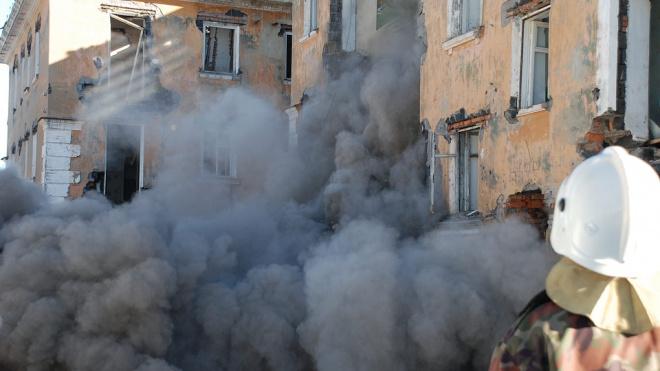 В Волховепри обрушении дома погибли два человека: возбуждено уголовное дело