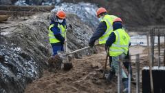 В Тихвине началось строительство дома по программе переселения из аварийного жилья