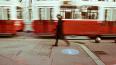 На улице Жукова затруднено движение трамваев