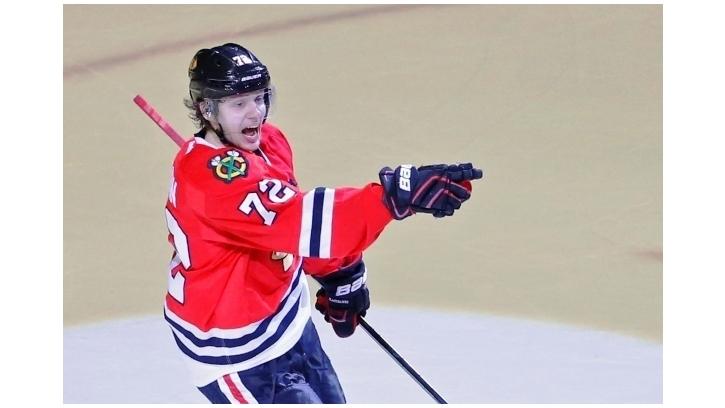 Панарин оформил первый хет-трик в НХЛ
