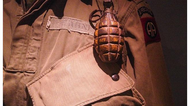 На улице Белы Куна нашли гранату