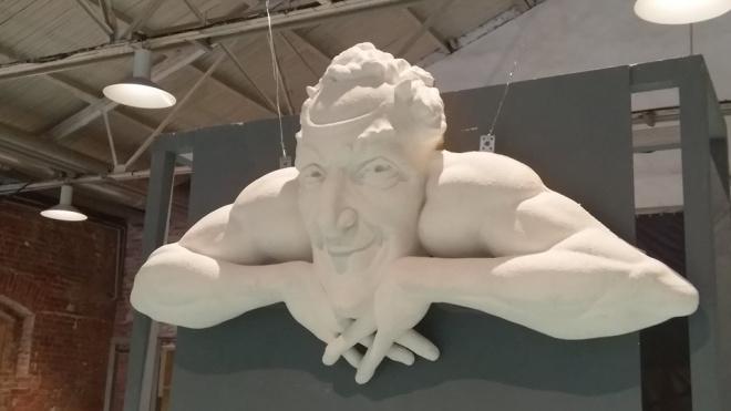 """В """"Севкабель Порту"""" представили 3D-копию барельефа Мефистофеля"""