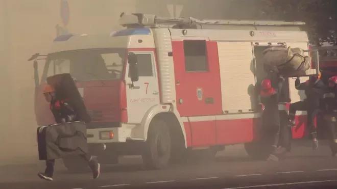 Во время пожара в частном доме в Ленобласти пострадал пенсионер