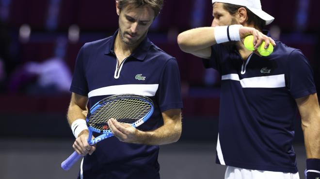 Стали известны победители теннисного турнира St. Petersburg Open в парном разряде