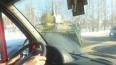 Под Петербургом боевой БТР перегородил дорогу после ...