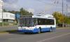 Троллейбусы снова весело покатились по Невскому проспекту после обрыва проводов