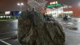 На Пулковском шоссе появился памятник тележке из суперма...