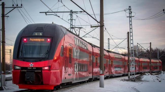 Перевозки пассажиров двухэтажными поездами в декабре в РФ возросли на 7,8%