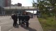 В Подмосковье водитель автобуса въехал в остановку ...
