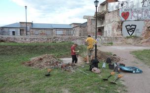 Институт истории материальной культуры РАН проводит раскопки в квартале Сета Солберга