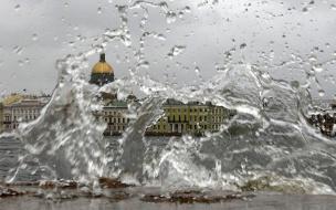 МЧС предупреждает петербуржцев о штормовом ветре