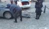 На Каменноостровском проспекте столкнулись три иномарки