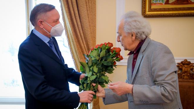 Беглов и Темирканов обсудили дальнейшее сотрудничество Филармонии и города