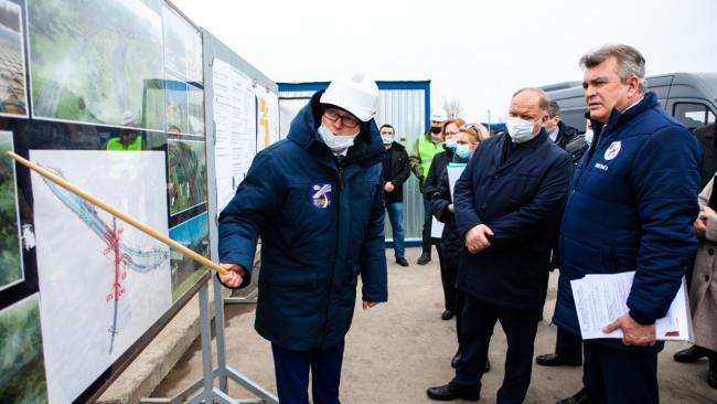Вице-губернатор оценил подготовку к 300-летию города Колпино и Ижорских заводов