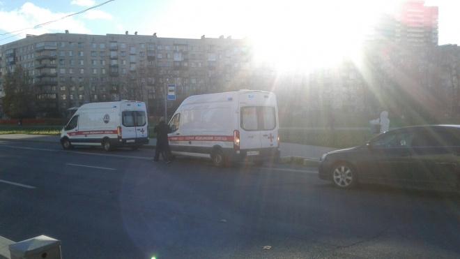 Во Фрунзенском районе иномарка сбила 8-летнюю девочку на пешеходном переходе