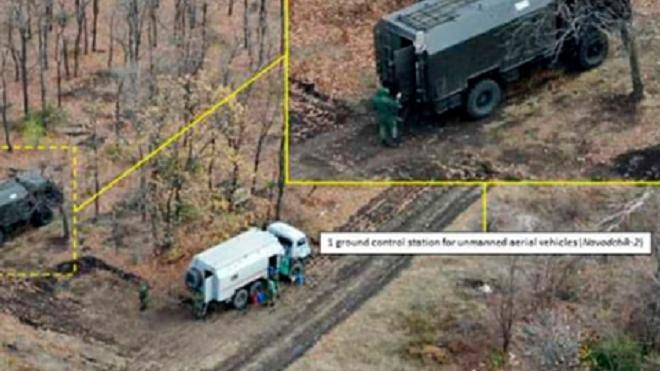 Новейший российский пункт управления беспилотниками впервые заметили на Донбассе