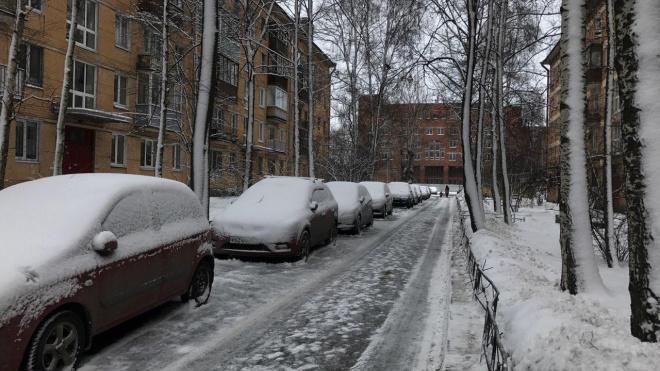 В Санкт-Петербурге выявлено 1160 недостатков зимнего содержания дорог