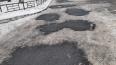 В Выборгском районе поверх снега уложили асфальт