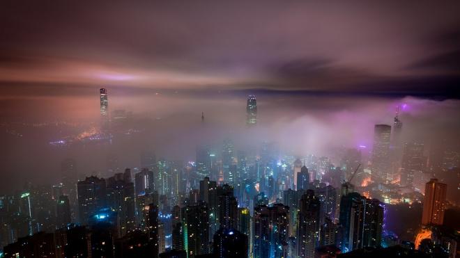 Ночью на Петербург опустится туман
