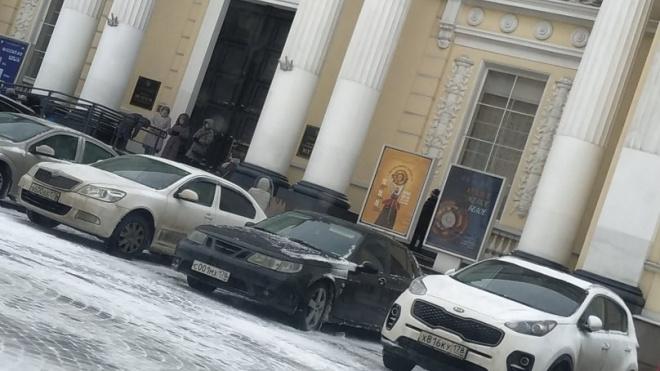 В этнографическом музее Петербурга прошла эвакуация