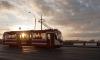 Два КамАЗа и иномарка врезались в трамвай на Наставников