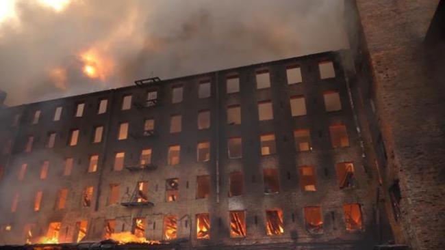 """Владельцы """"Невской мануфактуры"""" игнорировали правила пожарной безопасности несколько лет"""